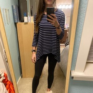 Size Small Striped Long Sleeve Tee